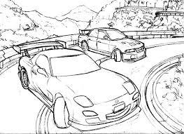 coloring pages drifting cars gambar drawing ae86 d1gp driftworks forum ueo tsage 3