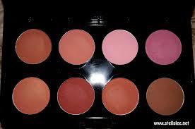 Eyeshadow Wardah Vs Makeover make shade blush on palette review stella s