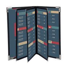 menu covers wholesale popular black menu cover buy cheap black menu cover lots from