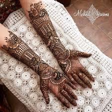 top 25 dulhan mehndi designs for