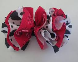 bandana bow bandana hair bows etsy