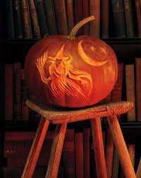 Halloween Pumpkin Lantern - how to carve a pumpkin martha stewart