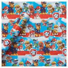 gift wrapping paper paw patrol gift wrap birthday target
