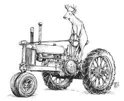 tractor coloring pages john deere periodic tables