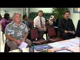 Ron Swanson Circle Desk Episode I Love Ron Swanson Rebrn Com