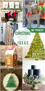 remodelaholic 150 christmas ideas decorations printables and
