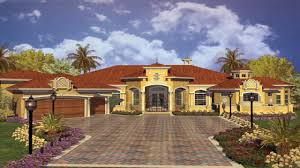 Tuscan Style Homes by Spanish Style Homes Floor Plans Courtyard House Plans Naples