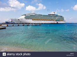 royalcaribbean royal caribbean navigator of the seas docked at the port of