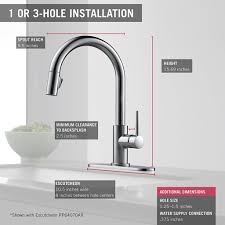 delta faucets for kitchen top 10 best kitchen faucet for 2017 vals views