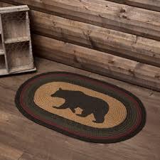 Rustic Cabin Lodge Area Rugs Lodge Rug Ebay