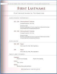 resume resume templates for microsoft word professional resume