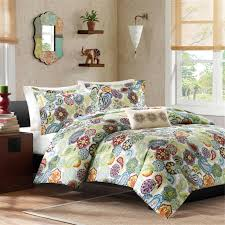 Cheap Bed Spreads Bedroom Wonderful Decorative Bedding Design With Cute Paisley