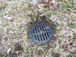 backyard drainage pipe clogged home outdoor decoration