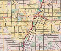 Metro Center Map by Greater Las Vegas Regional Metropolitan Area Wall Map