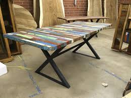reclaimed wood furniture dining table with concept gallery 7178
