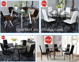 Tempered Glass Dining Table Modern Kitchen Table Furniture Tempered Glass Dining Table