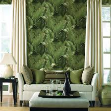 green wallpaper room green banana paper based wallpaper sitting room the bedroom tv