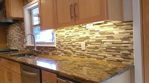 KITCHEN BACKSPLASH Linear Glass  Marble Mosaic Traditional - Linear tile backsplash