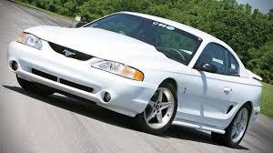 fastest mustang cobra fastest ford mustang part 6 1995 mustang svt cobra r