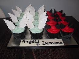Angel Decorated Cake Peter Andre Angel Or Demon The Oxford Cupcakes Maker Happy
