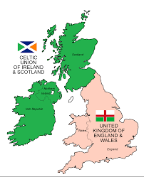 Map Scotland Theoretical Map Of The