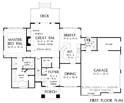 Donald Gardner Floor Plans Home Plan The Luxembourg By Donald A Gardner Architects
