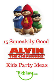 15 squeakily good alvin chipmunks kids party ideas