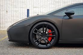 Lamborghini Gallardo Black - insane matte black lamborghini gallardo on adv 1 wheels redbende