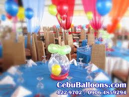Finding Nemo Centerpieces by Balloon Centerpiece Stuffed Balloon Cebu Balloons And Party