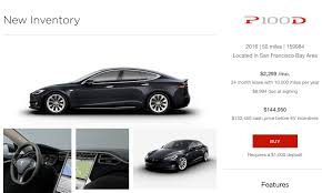 tesla offering model s p100d inventory cars for immediate pickup