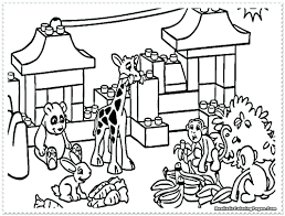 zoo animal coloring pages two giraffes 97 marvelous page realistic
