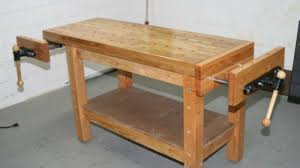Work Bench Table Build A Woodworkers Workbench That Can Handle Any Project
