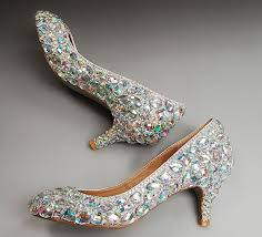 wedding shoes low heel pumps ab crystals rhinestone kitten heels wedding shoes low heel