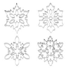 thanksgiving cookie cutters giant snowflake stainless steel cookie cutters the green head