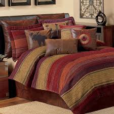 Jcpenney Comforters Bedding Sets Burgundy Black Quilted Patchwork Bed In A Bag