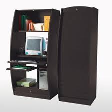 bureau informatique ferm meuble informatique fermé ikea armoire idées de décoration de