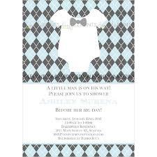 bowtie baby printable little man shower invite dimple prints shop