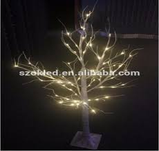 low price different colors led birch tree light indoor outdoor