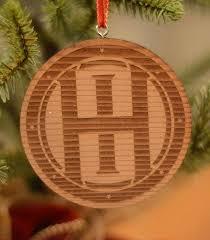 vintage ohio ornament