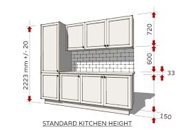 kitchen cabinet width standard dimensions for australian kitchens kitchen design