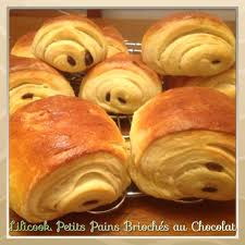 recette de cuisine thermomix petits pains briochés au chocolat lilicook et ses petits plats