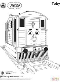toby from thomas u0026 friends coloring page free printable coloring