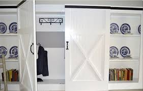 Closet Barn Doors Hinged Barn Closet Doors Door Design