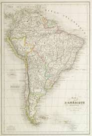 Maps South America by South America Map 1843 Original Art Antique Maps U0026 Prints