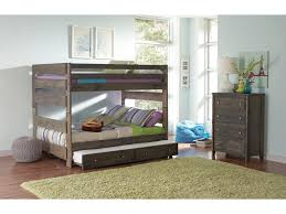 Pull Out Bunk Bed by Coaster Wrangle Hill Full Over Full Bunk Bed With Pull Out Trundle