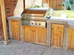 Barbecue Cabinets Outdoor Bbq Kitchen Cabinet Outdoor Outdoor Kitchen Grill Cabinets