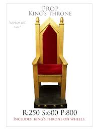 king chair rental prop rental throne abracadabranyc