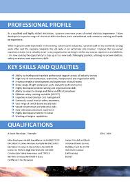 Example Electrician Resume Mining Resumes Examples Resume For Your Job Application