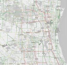 Chicago Tolls Map by Traffic Patterns In Chicago