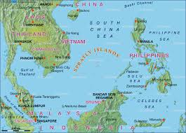 Southeast Asia Physical Map by The Spratly Islands Dispute Why Is This Important Energy In Asia